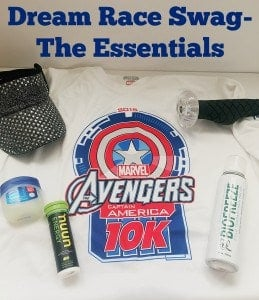 Dream Race Swag Bag – My Running Essentials