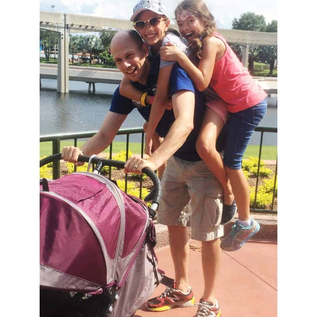 Celebrating Father's Day at Disney World is the best present!