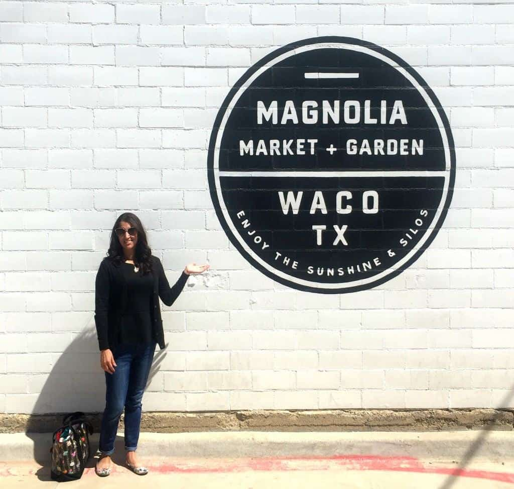 There are tons of photo opps when you plan a trip to Magnolia Market in Waco.