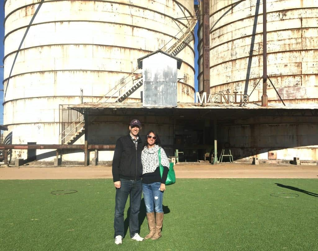 When you plan your trip to Magnolia Market, don't forget a picture in front of the iconic silos!