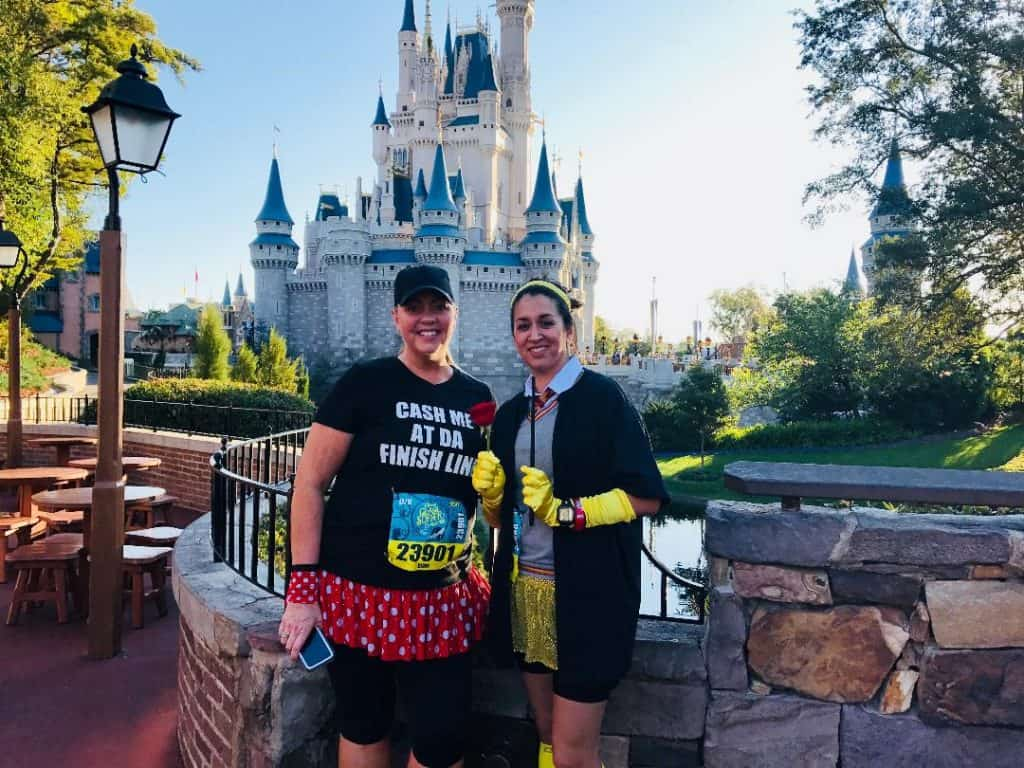 Disney Princess Half Marathon Tips - take a castle picture!