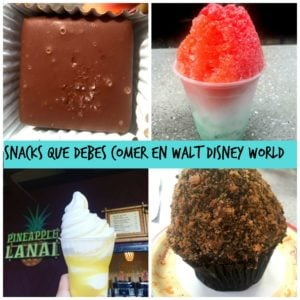 5 Snacks Que Debes Comer en Walt Disney World