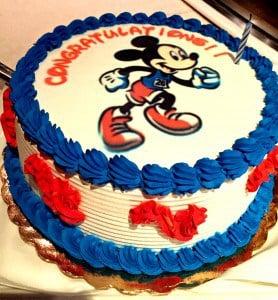 Marathon Celebration Cake