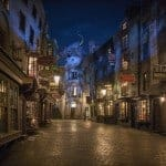 Visiting Diagon Alley at Wizarding World of Harry Potter