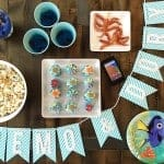 Finding Dory and Finding Nemo DIY Family Movie Night