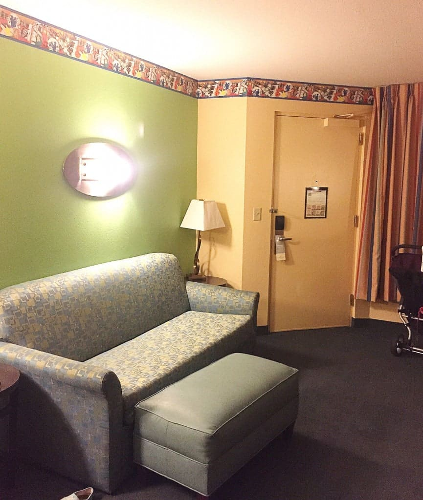 Disney's All-Star Music Family Suite Sitting Area