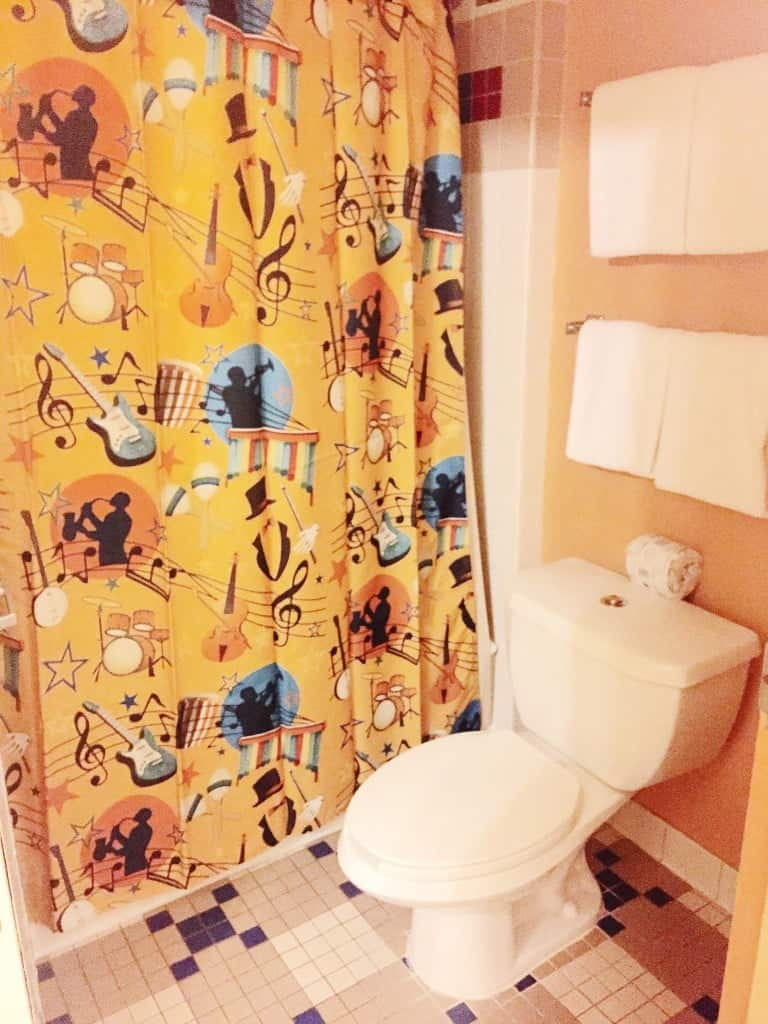 Disney's All-Star Music Family Suite Bathroom