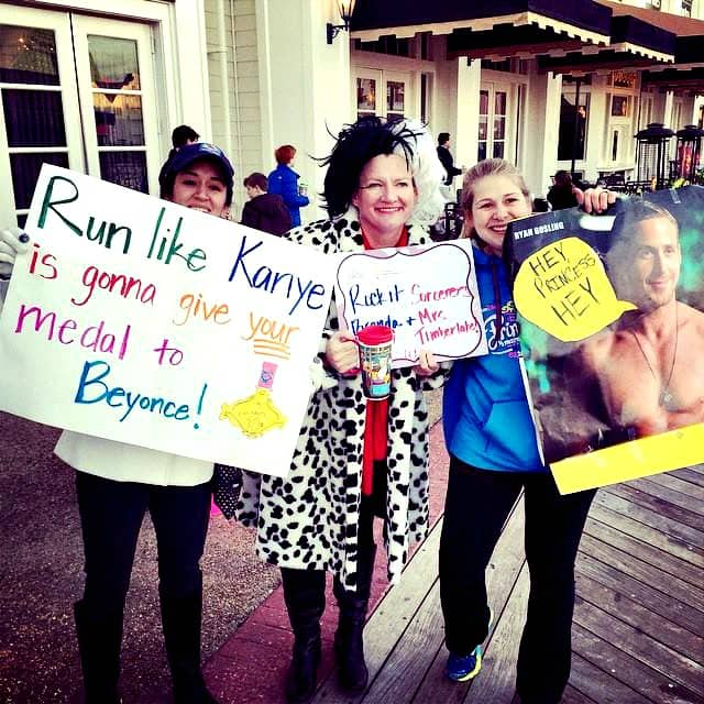 Funny and Motivational Race Signs! I need funny when I'm running a marathon, but what happens when a sign strikes controversy on the race course? That awkward moment when a runner said I sucked.