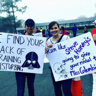 Controversial Darth Vader Race Sign
