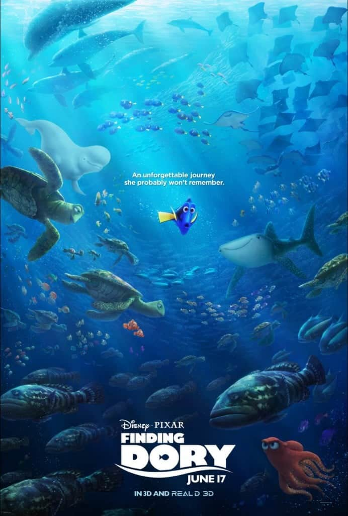 A Finding Dory Video Review - From a Mom's Point of View! Will young children or tweens like Finding Dory?