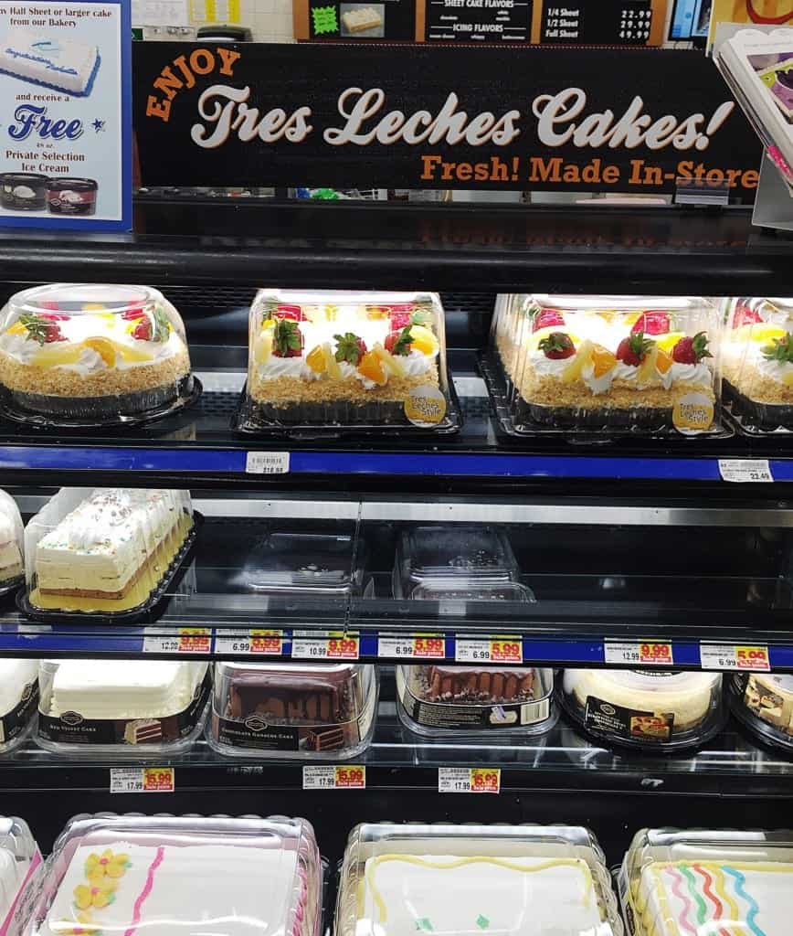 Tres Leches Cakes at Kroger