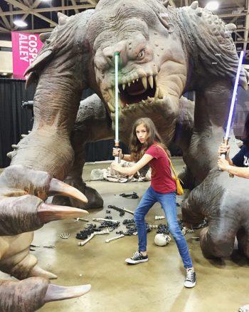Roxy the Rancor Fan Expo Dallas