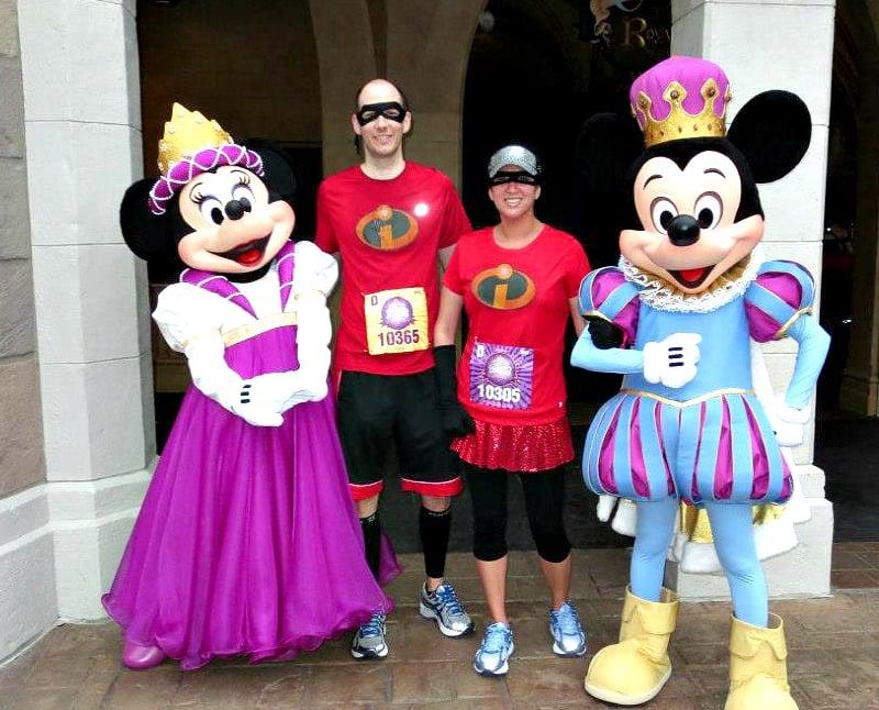 Corriendo en Walt Disney World como Los Increibles