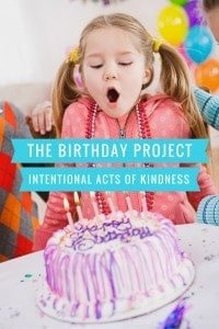 The Birthday Project: Kindness Every Day