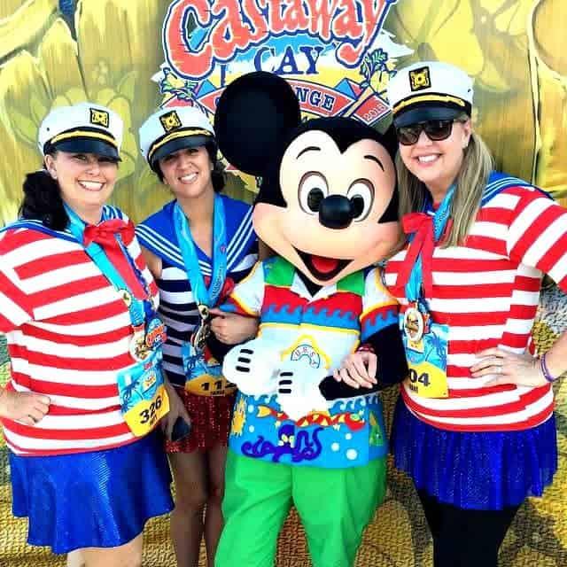 ¡Puedes correr en un crucero Disney también!
