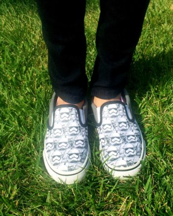 Stormtrooper shoes are not just for boys