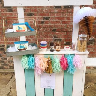 Backyard Ice Cream Stand