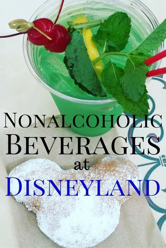 I discovered some delicious nonalcoholic drinks at Disneyland. For those times you want a little fancier something like a mint julep or a cotton candy lemonade. And don't forget to pair it with some Mickey beignets!