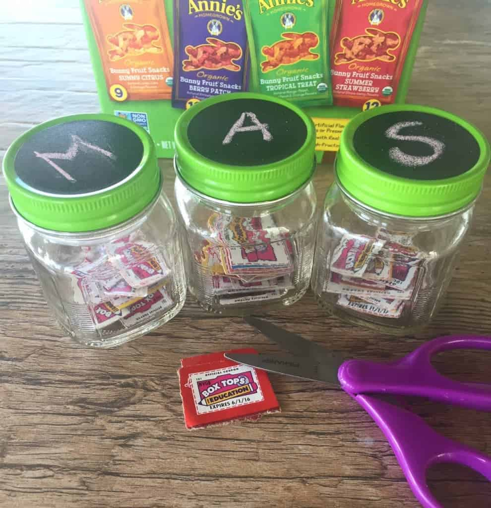 Box Tops containers