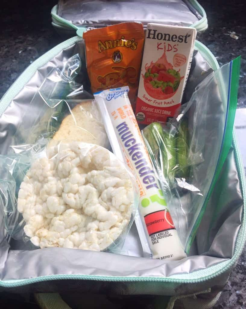Pack back to school lunches the night before