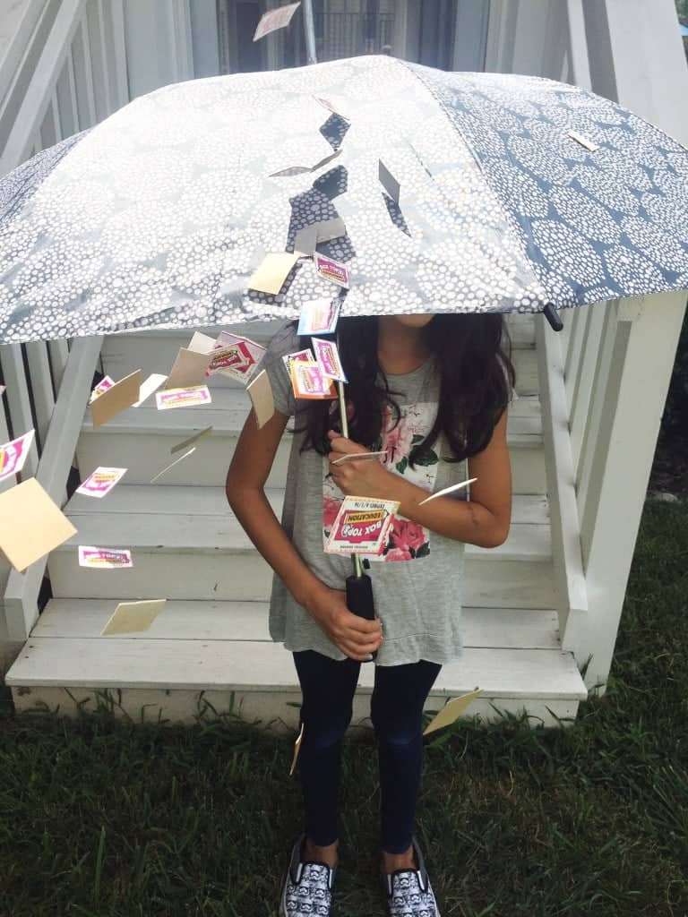 It's raining Box Tops.