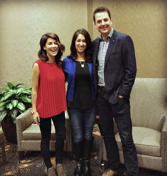 I interviewed Jillian Harris and Todd Talbot of HGTV's Love It or List It Too and got some good home selling tips and moving tips!