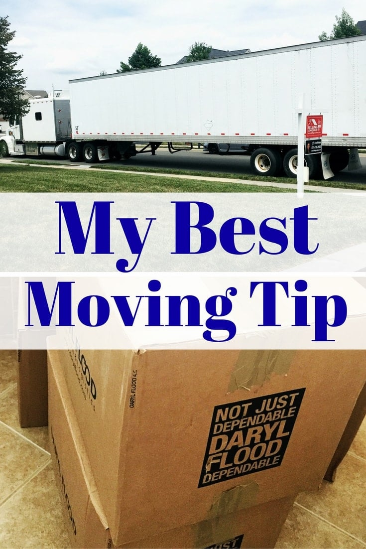 Are you moving soon? I've got you covered. Here is my best moving tip that I learned from Jillian Harris  from HGTV's Love It or List It, Too!
