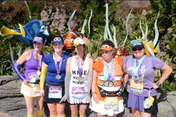 Finding Nemo runDisney group costume