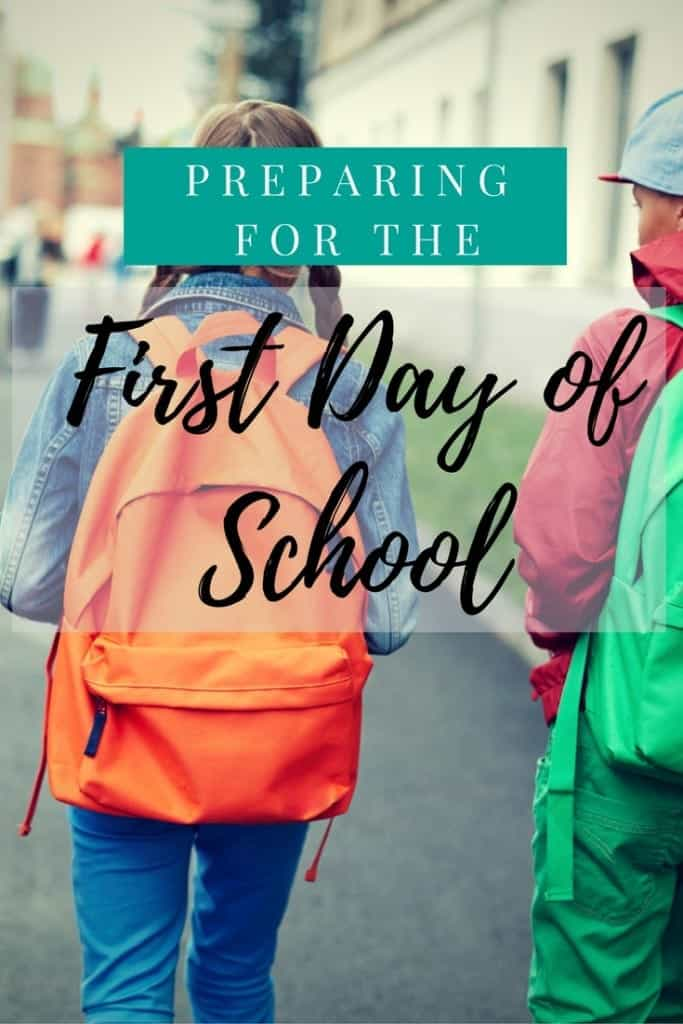 It's back to school time! Here's how my family prepares for and survives the first day of school.  #CostcoBoxTops ad