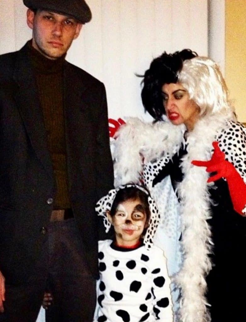 Jasper and Cruella Deville Costume - perfect for a couples Halloween party!