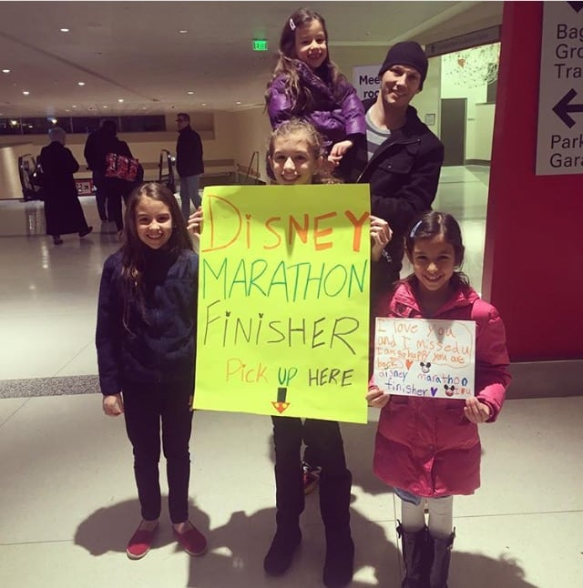 Marathon finisher airport pickup