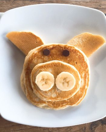 Easy Animal-Shaped Pancakes