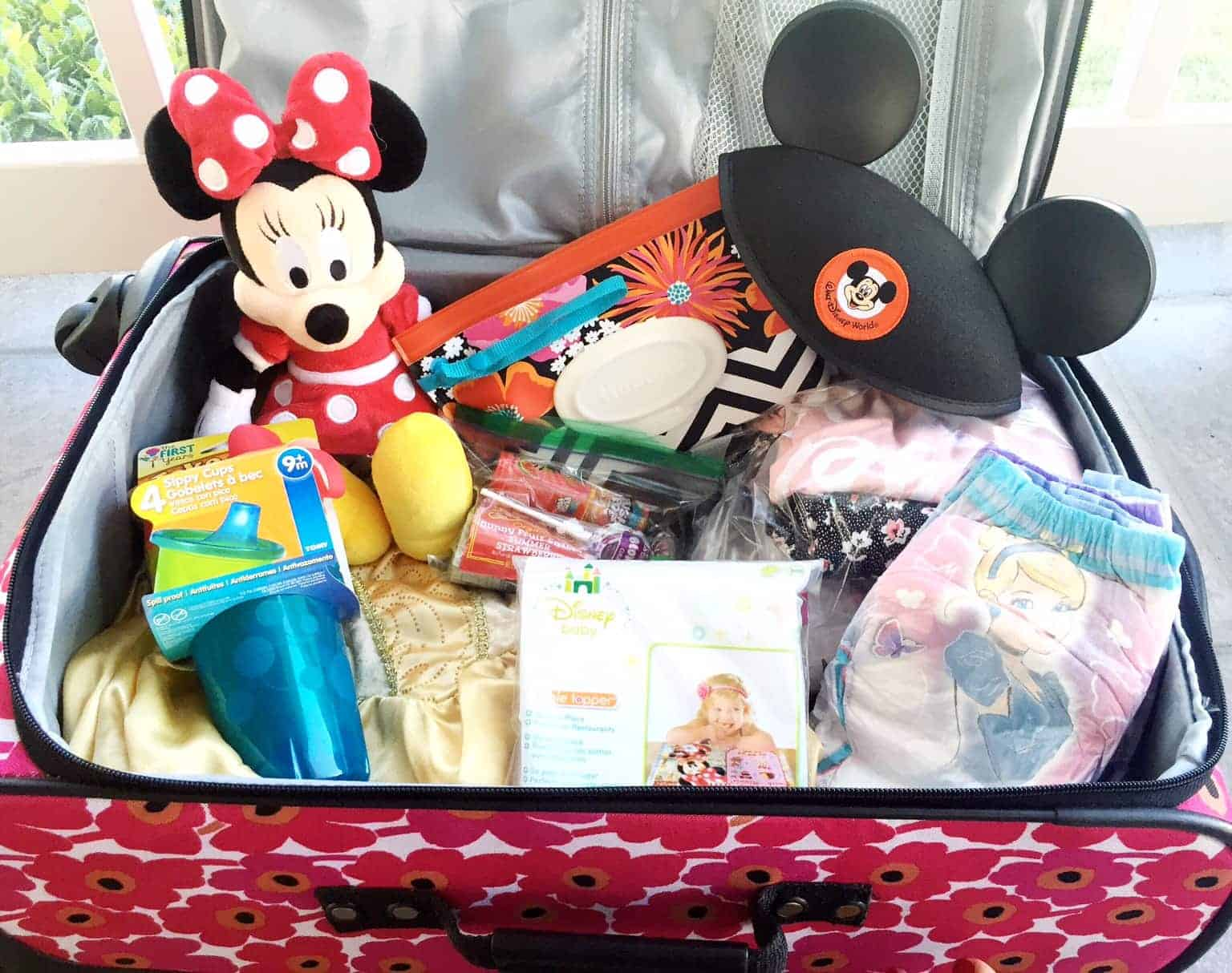 Packing necessities for Walt Disney World with Toddlers