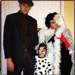 Cruella de Vil and 101 Dalmatians Halloween Costume