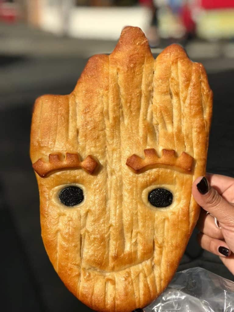 Don't miss out one of the best Disneyland snacks ever - Groot Bread!