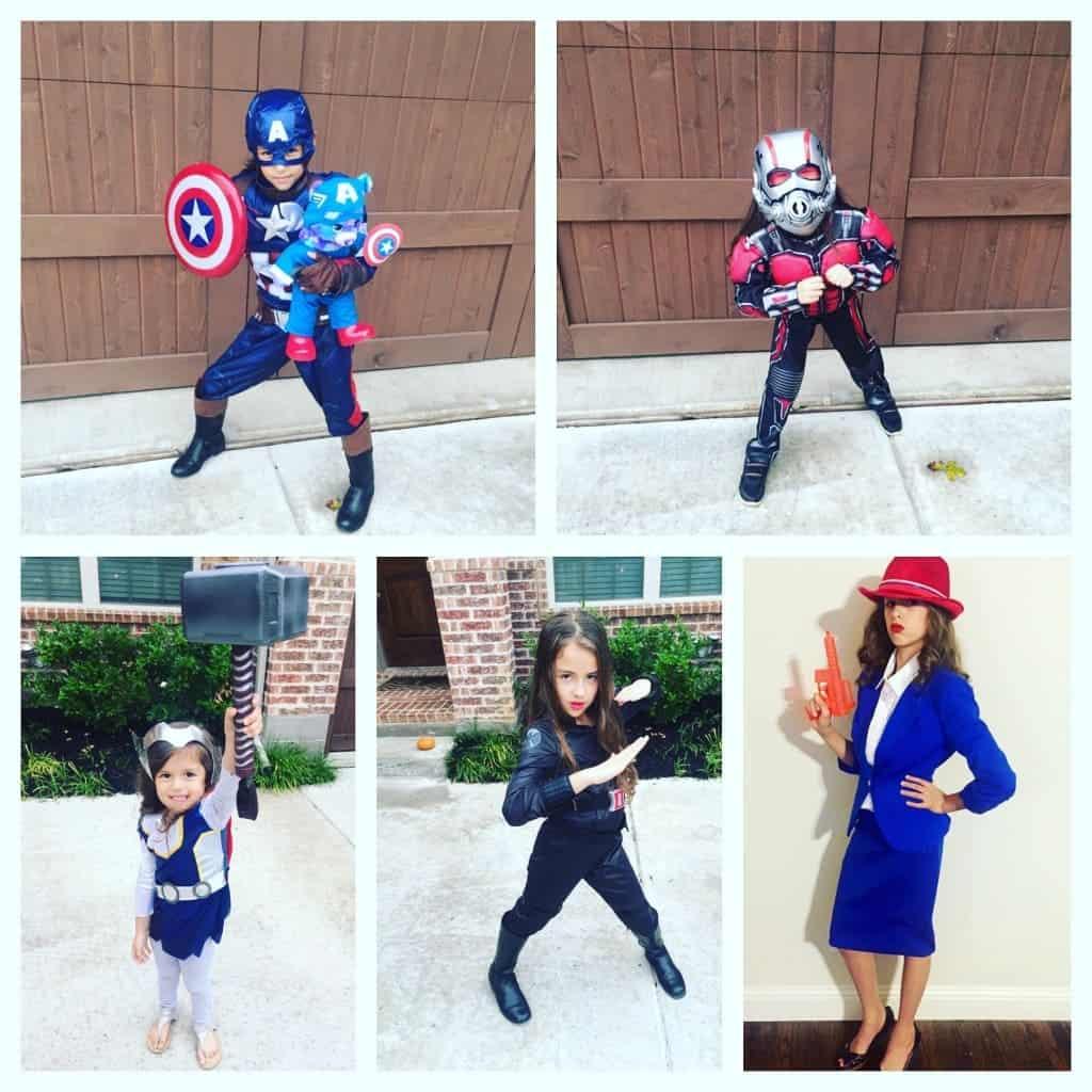 Avengers Halloween Costume