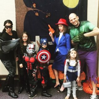 Avengers Family Halloween Costume