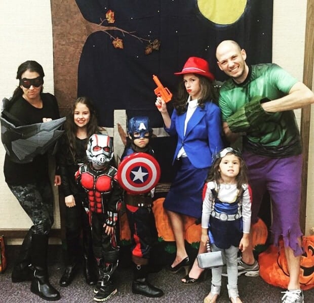 Avengers Family Costumes for Halloween