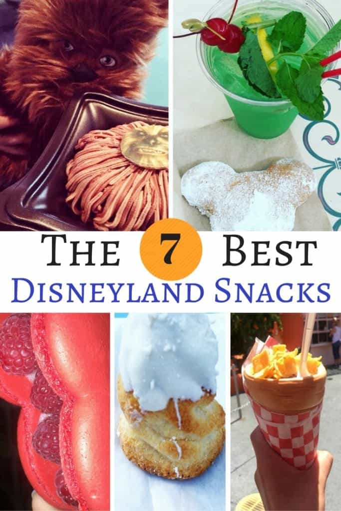 Disneyland food is one of the many reasons I love to visit the Happiest Place on Earth! These are the 7 best Disneyland treats and snacks you can only find in California.