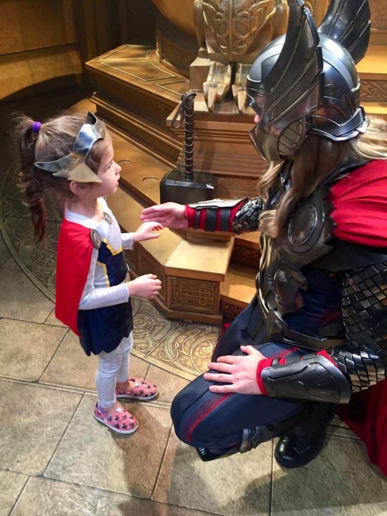 Thor Girl Costume for Avengers Family Costumes