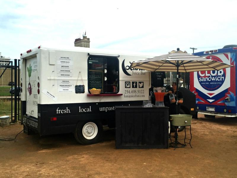 Waco Food Trucks at Magnolia Market