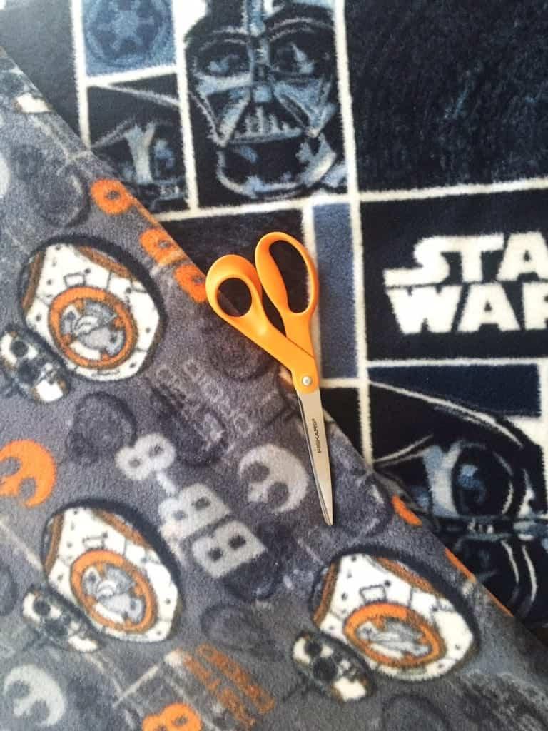 DIY Star Wars Blanket