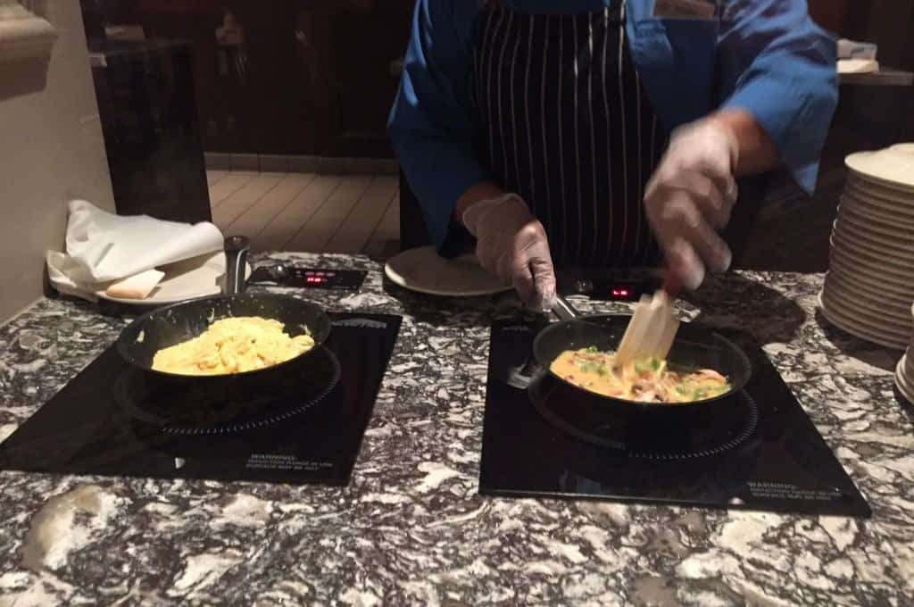 Omelette Station at Wyndham Lake Buena Vista