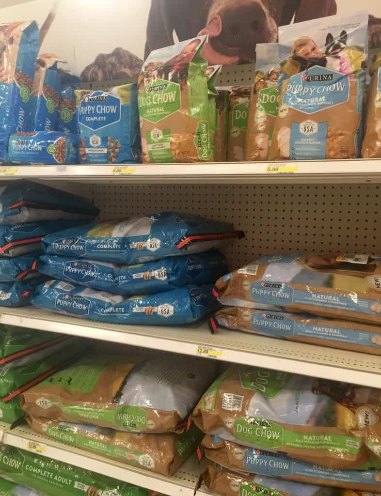 Purina Dog Chow in Target
