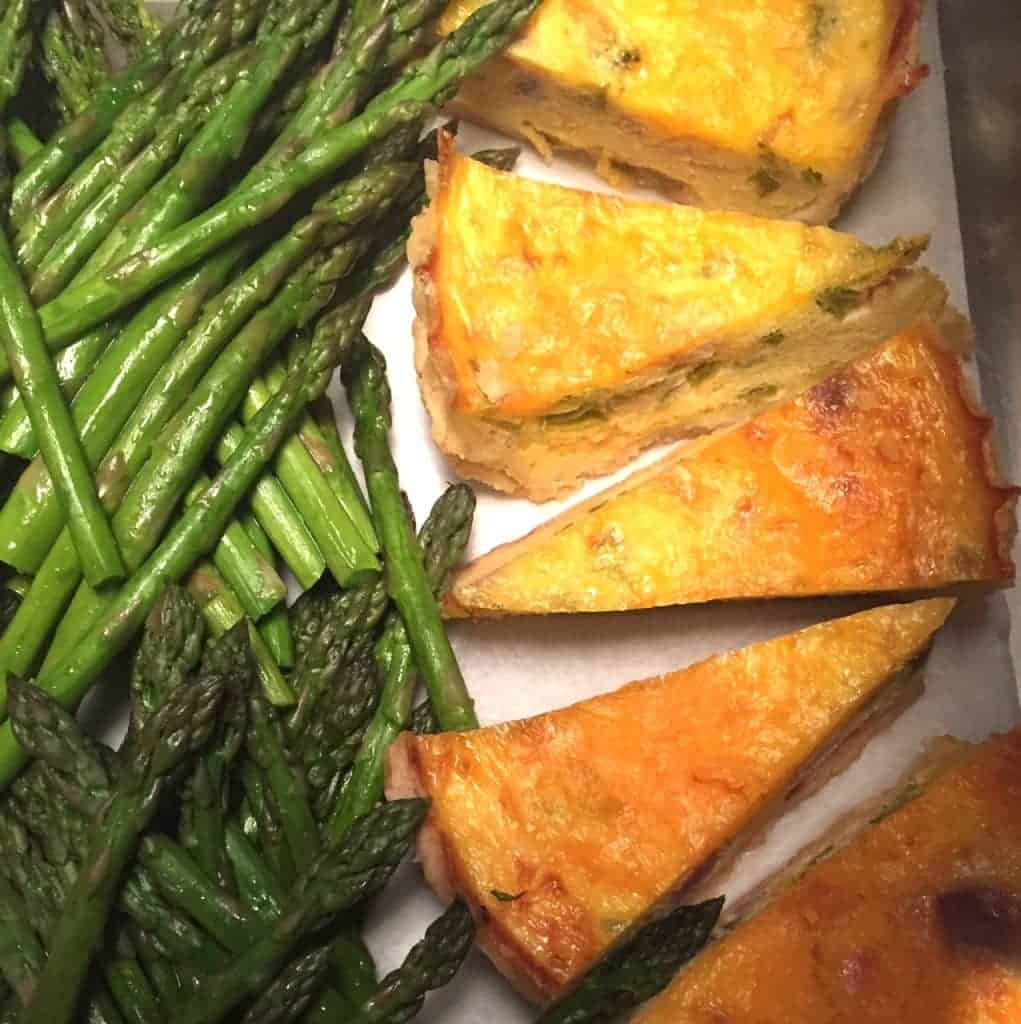 Asparagus and Quiche