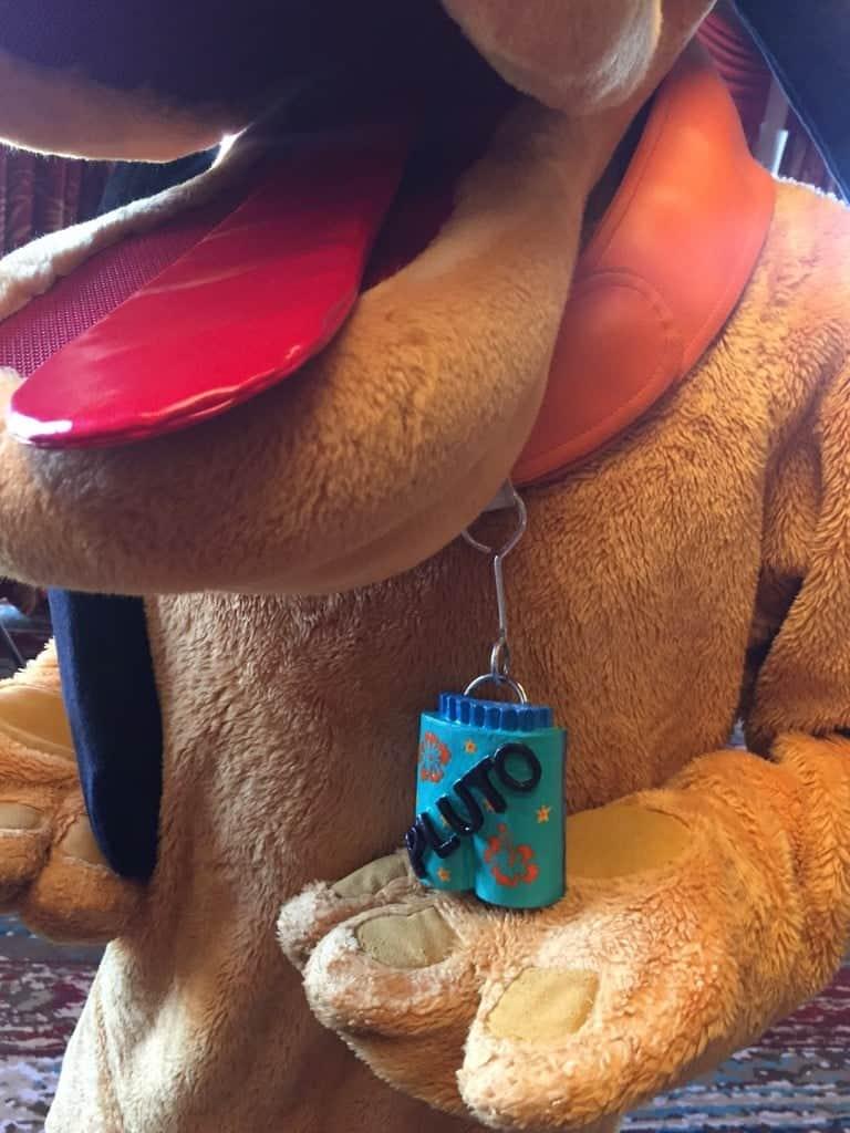 Pluto at Disney Character Breakfast at Wyndham Lake Buena Vista