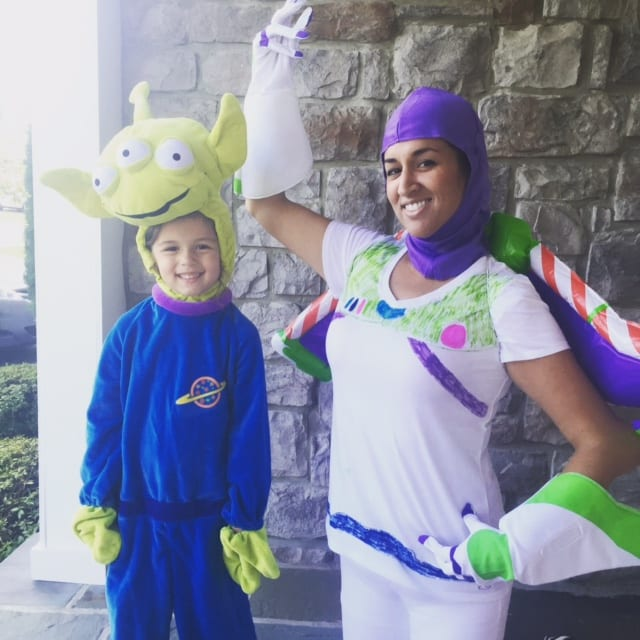 Spanish Buzz Lightyear and Alien Costume from Toy Story
