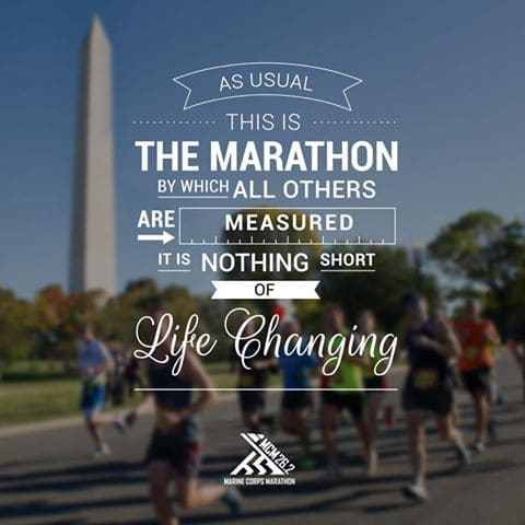 Marine Corps Marathon - Dream Races