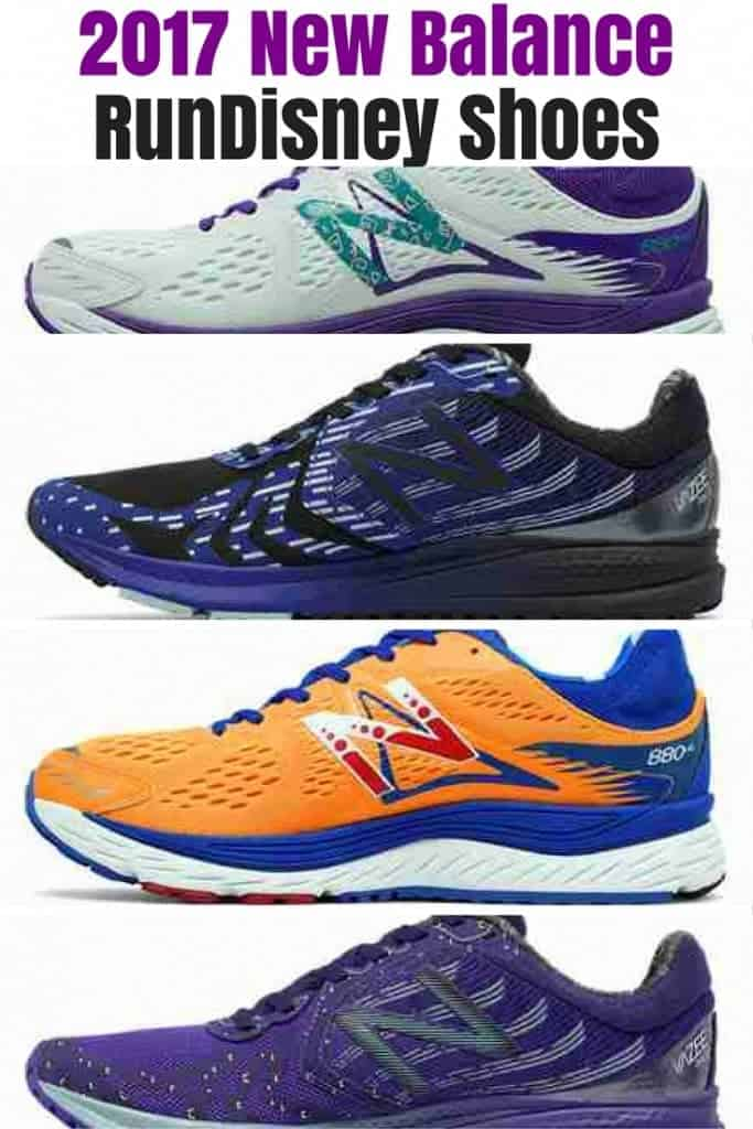 Here's a first look at the 2017 New Balance runDisney Shoe Collection! They are inspired after popular Disney rides and attractions like Haunted Mansion, Space Mountain, Mad Tea Party, and Toy Story Mania. Come take a look!