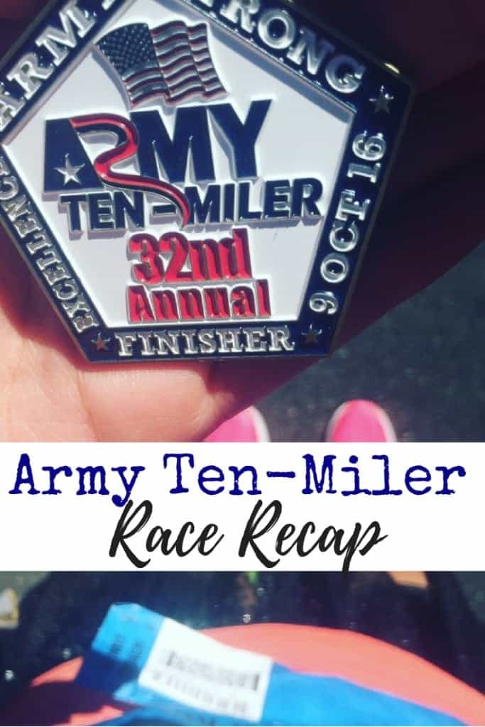 My 2016 Army Ten-Miler Race Recap in Washington D.C. Runner, if you're looking for an inspiring and fun race, then this is it!